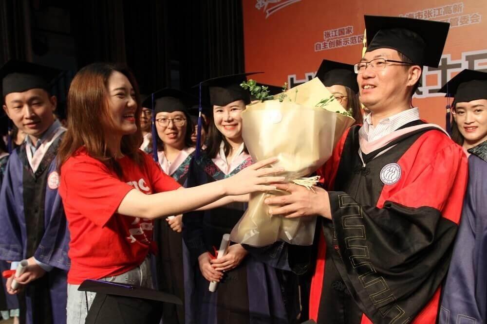 2019年9月1号人大人上海班新生开学典礼暨学位授予仪式