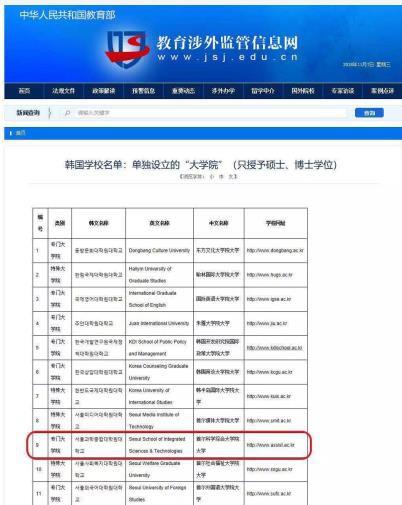 中国教育部涉外监管网备案