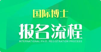 国际博士报名流程是什么?